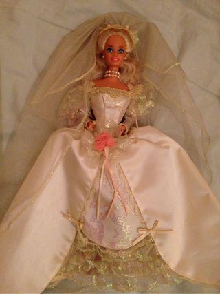 Antique barbie doll