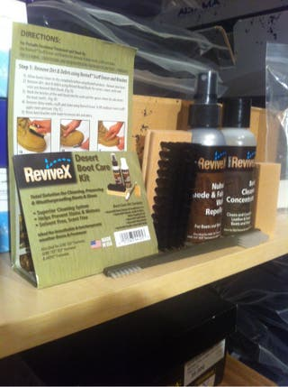 ReviveX Desert Boot Care Kit for waterproofing boots