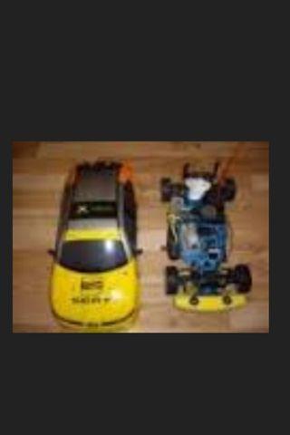 Coche radio control gasolina