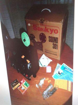 Proyector SANKYO Sound 301 de películas .