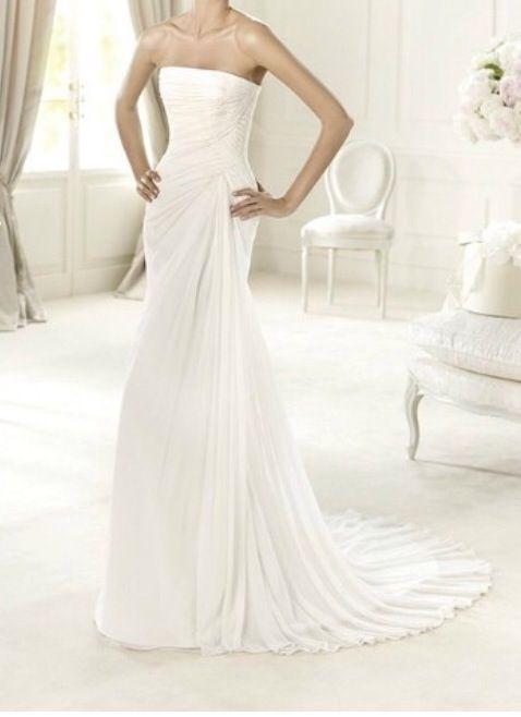 vestido de novia de pronovias corte sirena de segunda mano por 350