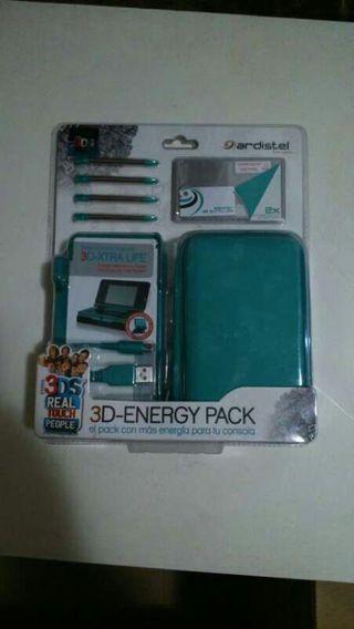Pack de energía para nintendo 3DS