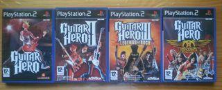 Guitarras y juegos Guitar Hero Psp2