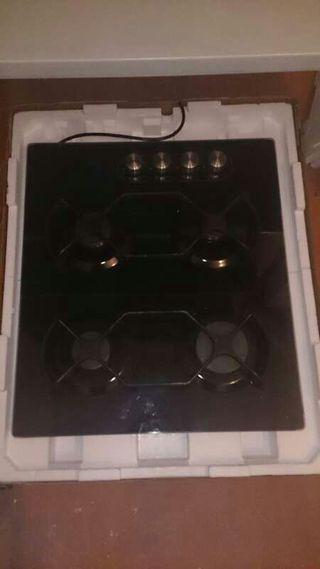 Placa cocina gas natural 4 fuegos ikea