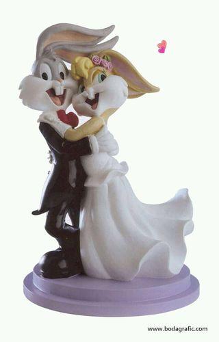 Figura tarta boda