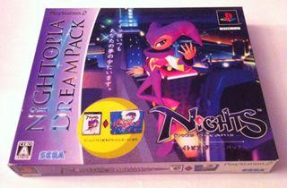 PS2 Nights Into Dreams (Nightopia Dreampack)