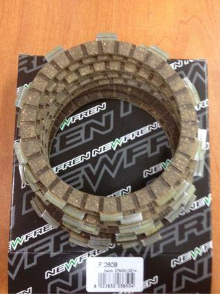 Discos de embrague z 750 kawasaki ańo 2007 07 08 09 10 11 2012