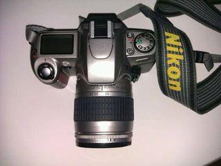 Camara reflex analogica Nikon F65