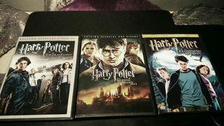 Harry Potter 3 y 4