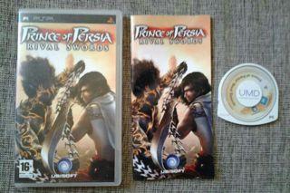 "PRINCE OF PERSIA "" Rival Swords"" para PSP"