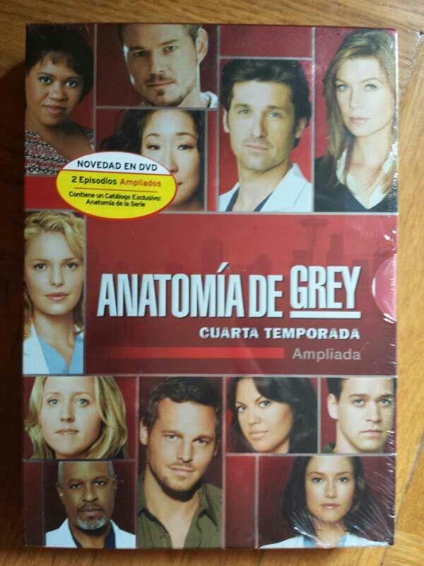 Anatomía de Grey Temporada 4 PRECINTADA de segunda mano por 20 € en ...