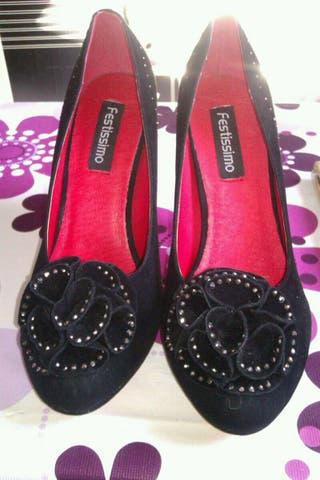 Zapatos 38 negros
