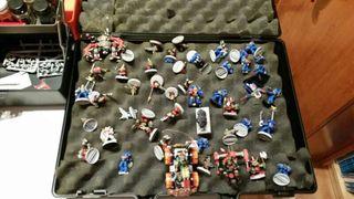Warhammer 40000 + lo que se en las fotos