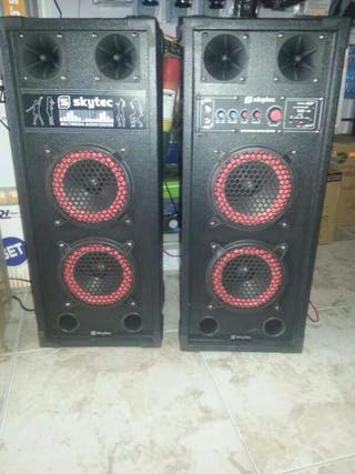Altavoces de karaoke spb-26 600wtt