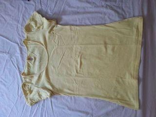 Camiseta amarilla talla 38