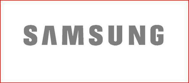 Logo pegatina adhesivo Samsung Movil