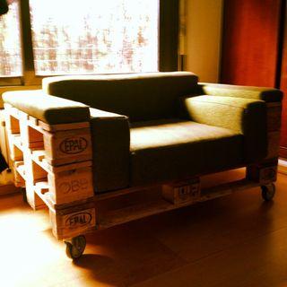 Sofa butaca palet!!