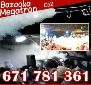 Alquiler Bazooka Megatrón