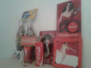Decoraciones de coca-cola