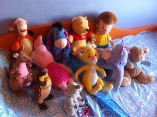 URGE vender 11 Peluches Winnie De Pooh Y Sus Amigos