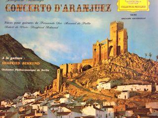 Vinilo de coleccionista, Concierto de Aranjuez
