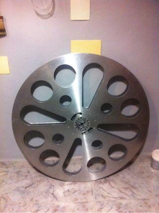 Bobina para proyector de cine de 35mm de aluminio