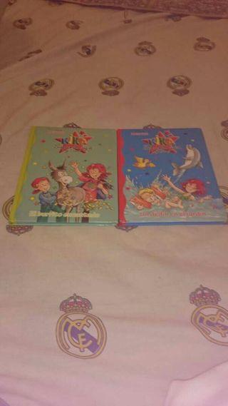 Libros de kika superbruja y Dani