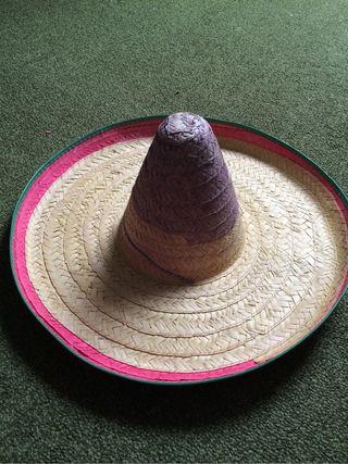 Sombrero mexicana de segunda mano en WALLAPOP 655b366ad49