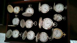 Relojes de bolsillo de colección
