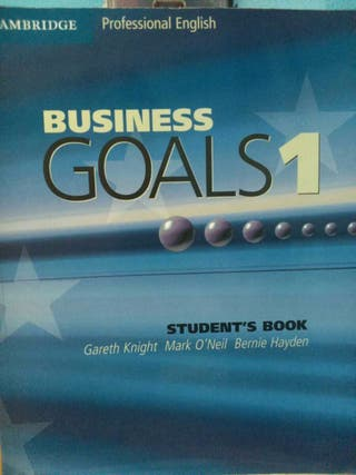 Libro de Ingles FP Business Goals 1