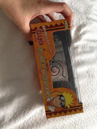 Bandana Naruto negra con caja