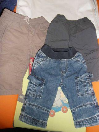 Lote 3 pantalones 3-6 m