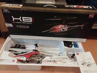 Helicóptero x8 rc 3ch