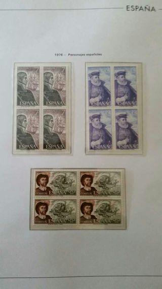 Colección sellos España 1976-1979