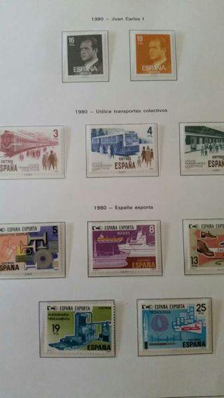 Colección sellos 1980-1983
