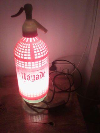 Lámpara sifón antiguo
