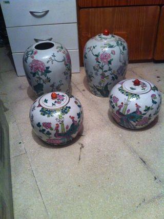 Tibores de porcelana
