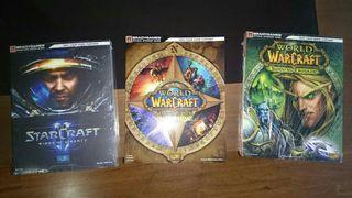Guías oficiales Starcraft 2 y World of warcraft
