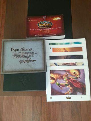 Colección litografías World of Warcraft Horda
