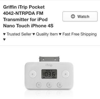 Itrip transmisor FM