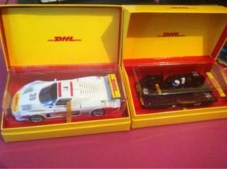 DHL 2coches slot, limited edition