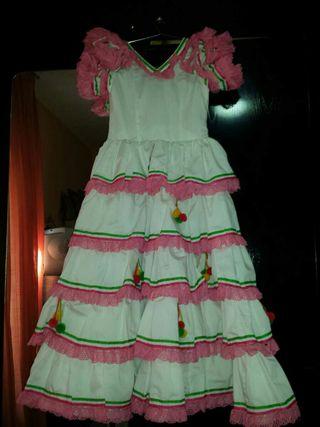 Vestido sevillanas o flamenco