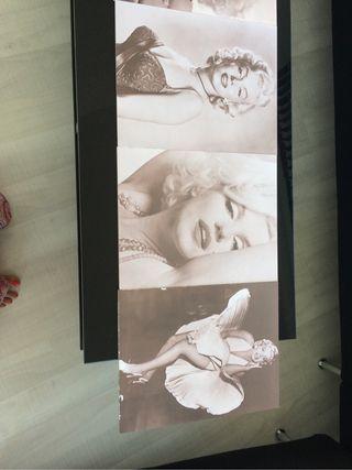 Colección cuadros fotos foam MARILYN