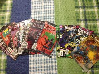 Comics de batman antiguos