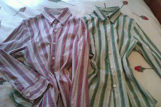 Camisas manga larga talla 40