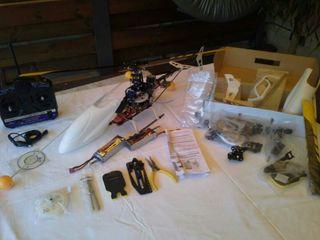 Helicoptero 450 2.4 Ghz+ otro de recambio