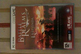 Juego pc Battle Realms la leyenda del samurai