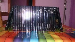 Colección de libros DVD de cuarto milenio..