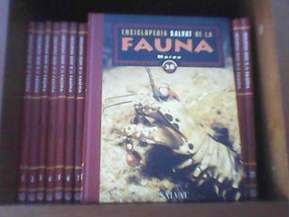 Enciclopedia SALVAT de la fauna.