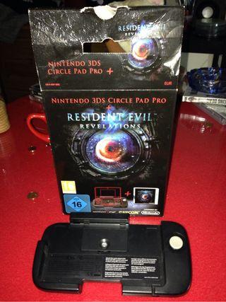 circle pad pro Mando Para Resident Evil Revelations